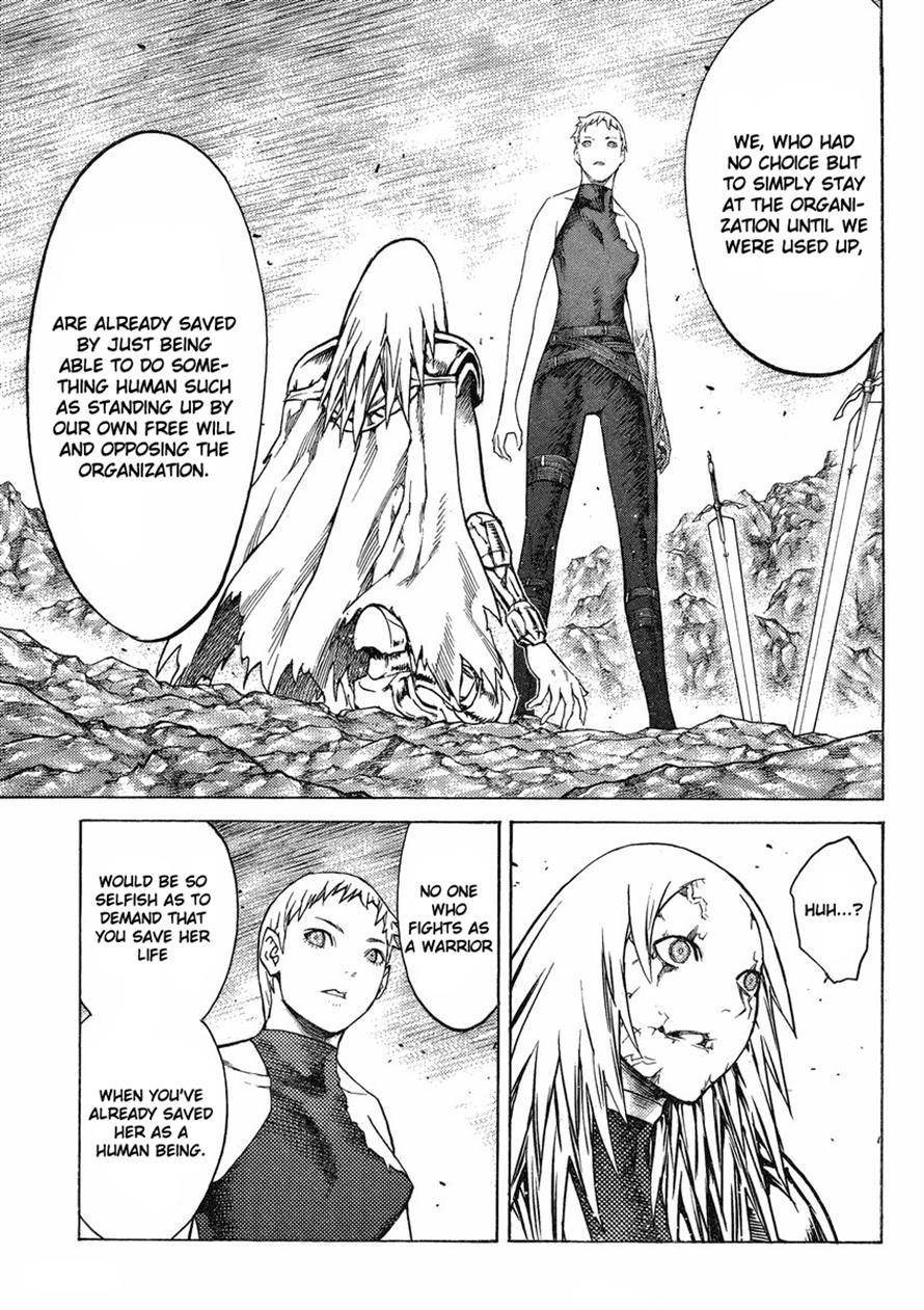 Claymore, Chapter 123 image 013