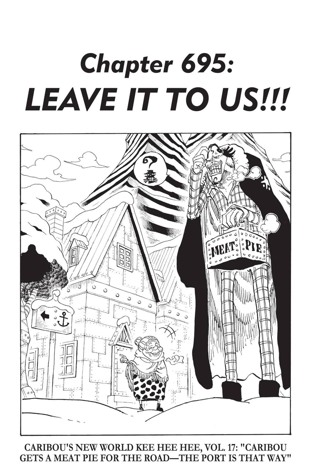 One Piece, Chapter 695 image 001