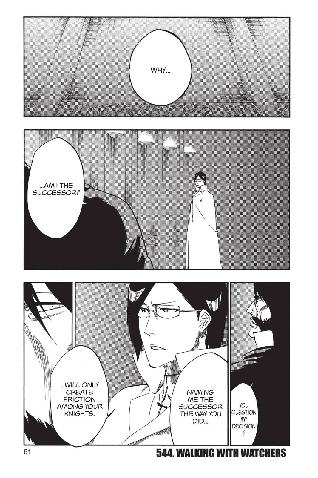 Bleach, Chapter 544 image 001