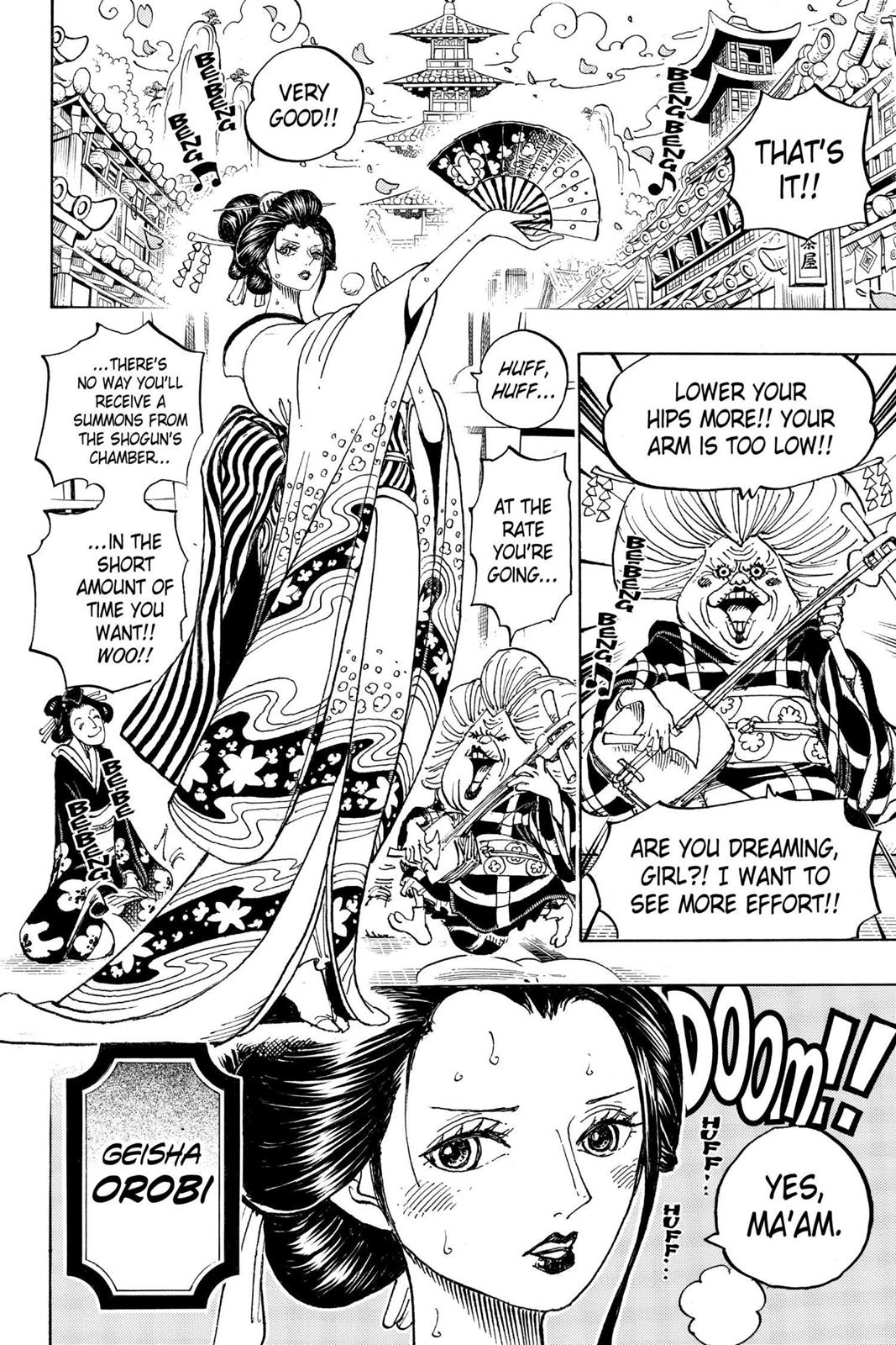 One Piece, Chapter 909 image 011