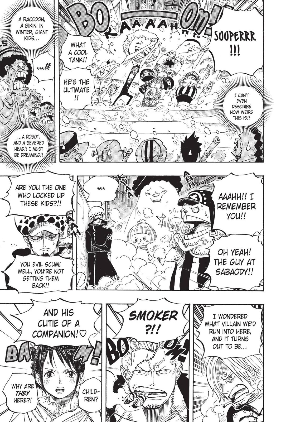 One Piece, Chapter 660 image 016