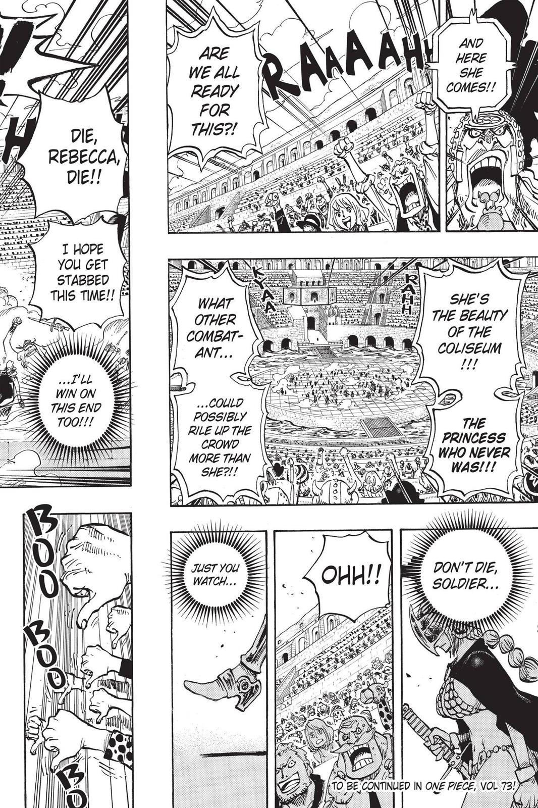 One Piece, Chapter 721 image 018
