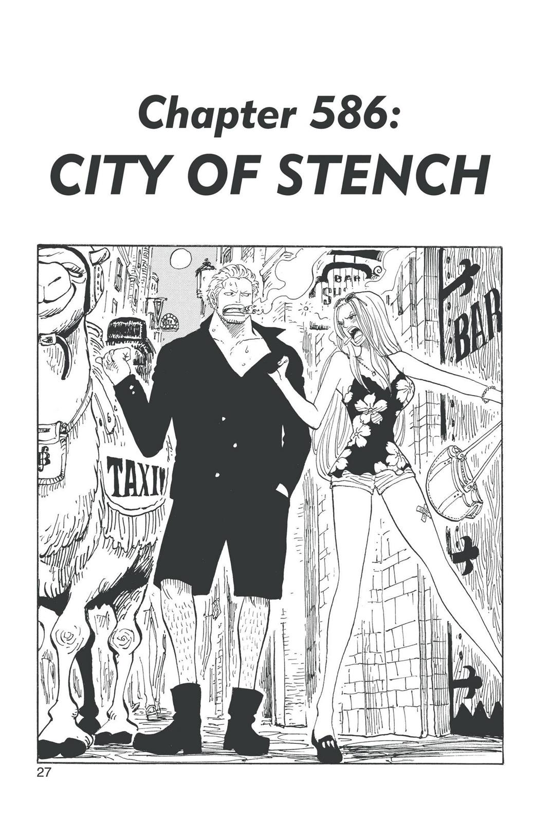 One Piece, Chapter 586 image 001