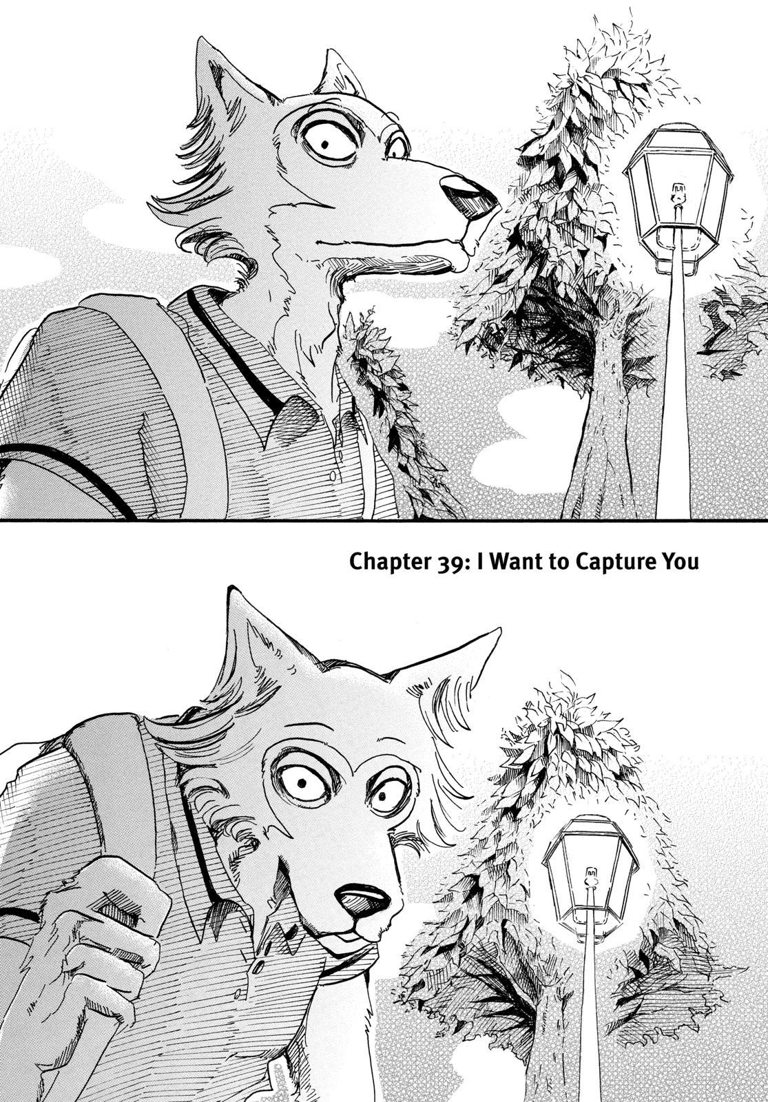 Beastars Manga, Chapter 39 image 001