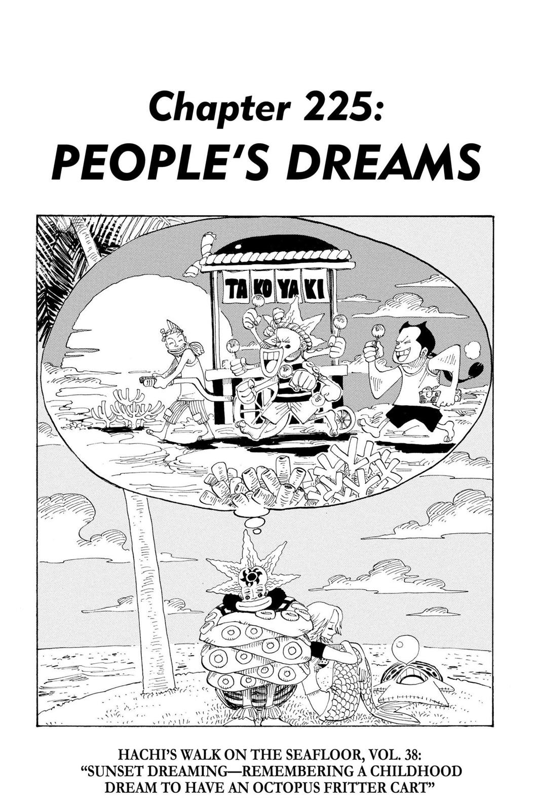 One Piece, Chapter 225 image 001