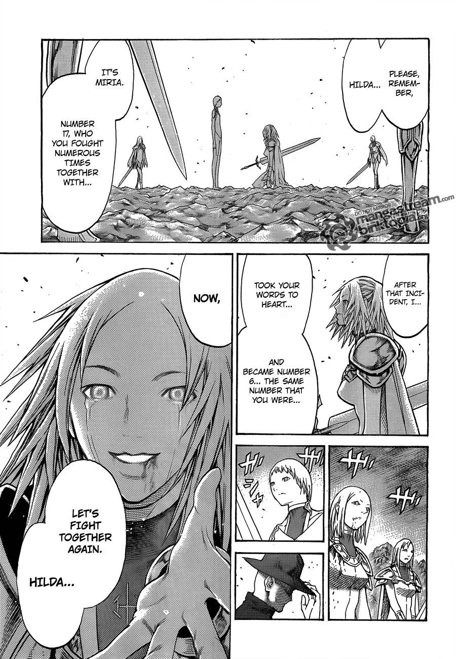 Claymore, Chapter 107 image 030