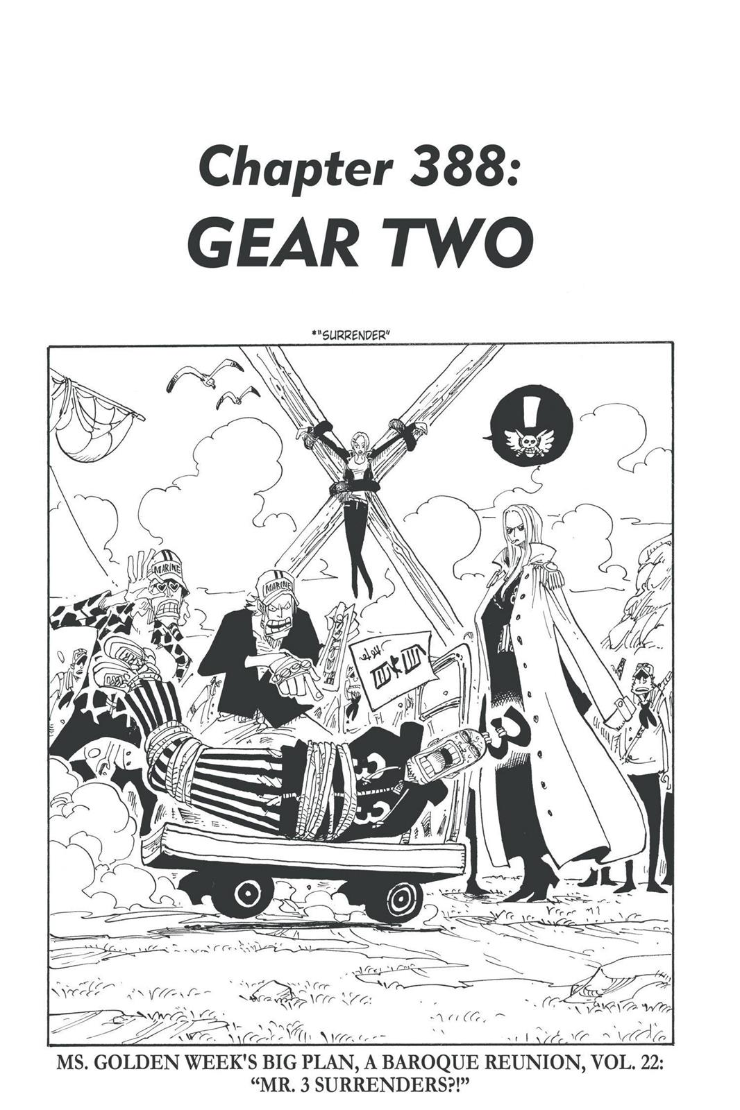 One Piece, Chapter 388 image 001