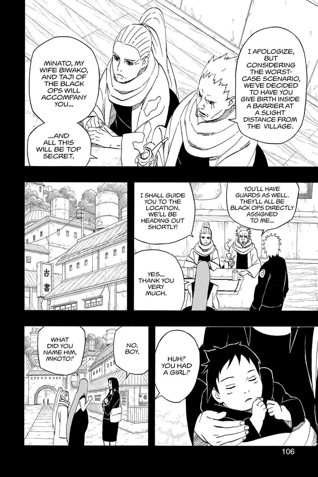 Naruto, Chapter 500 image 010