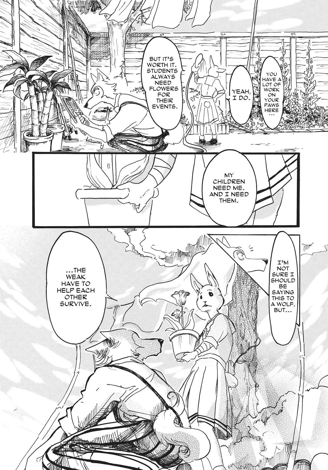 Beastars Manga, Chapter 8 image 019