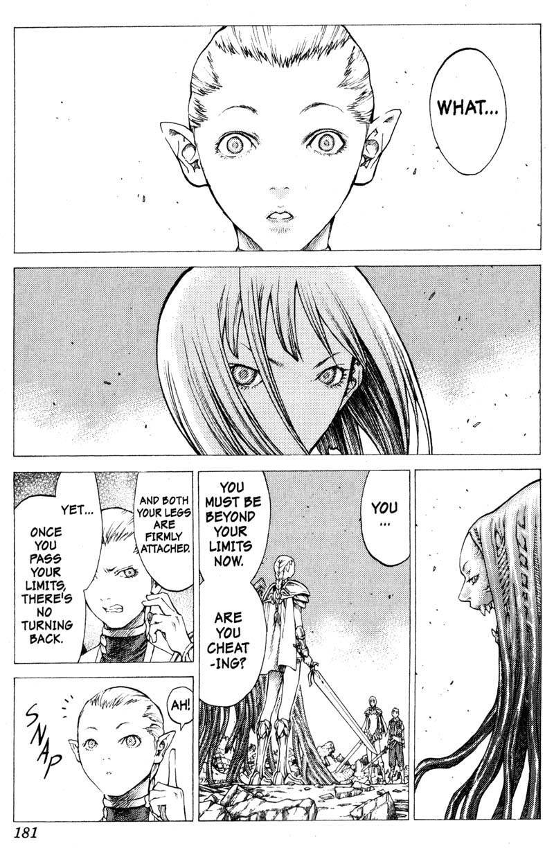 Claymore, Chapter 33 image 020