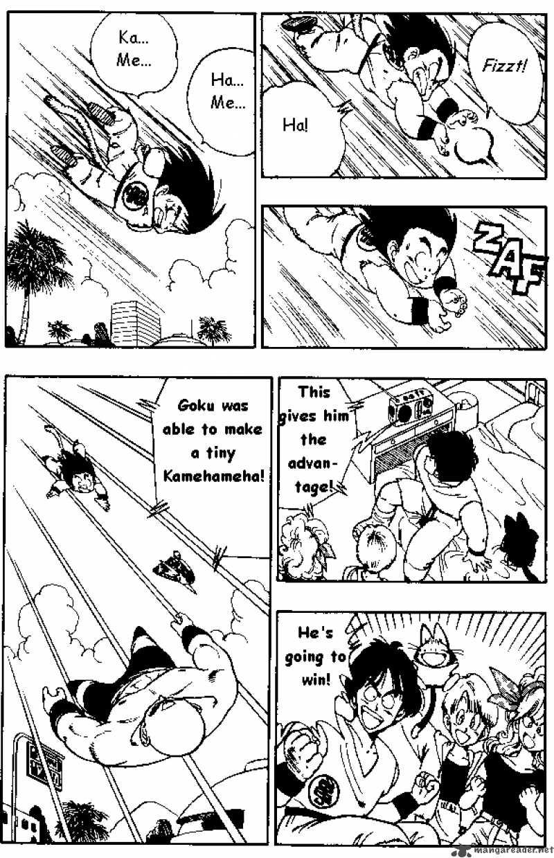 Dragon Ball, Chapter 134 image 007