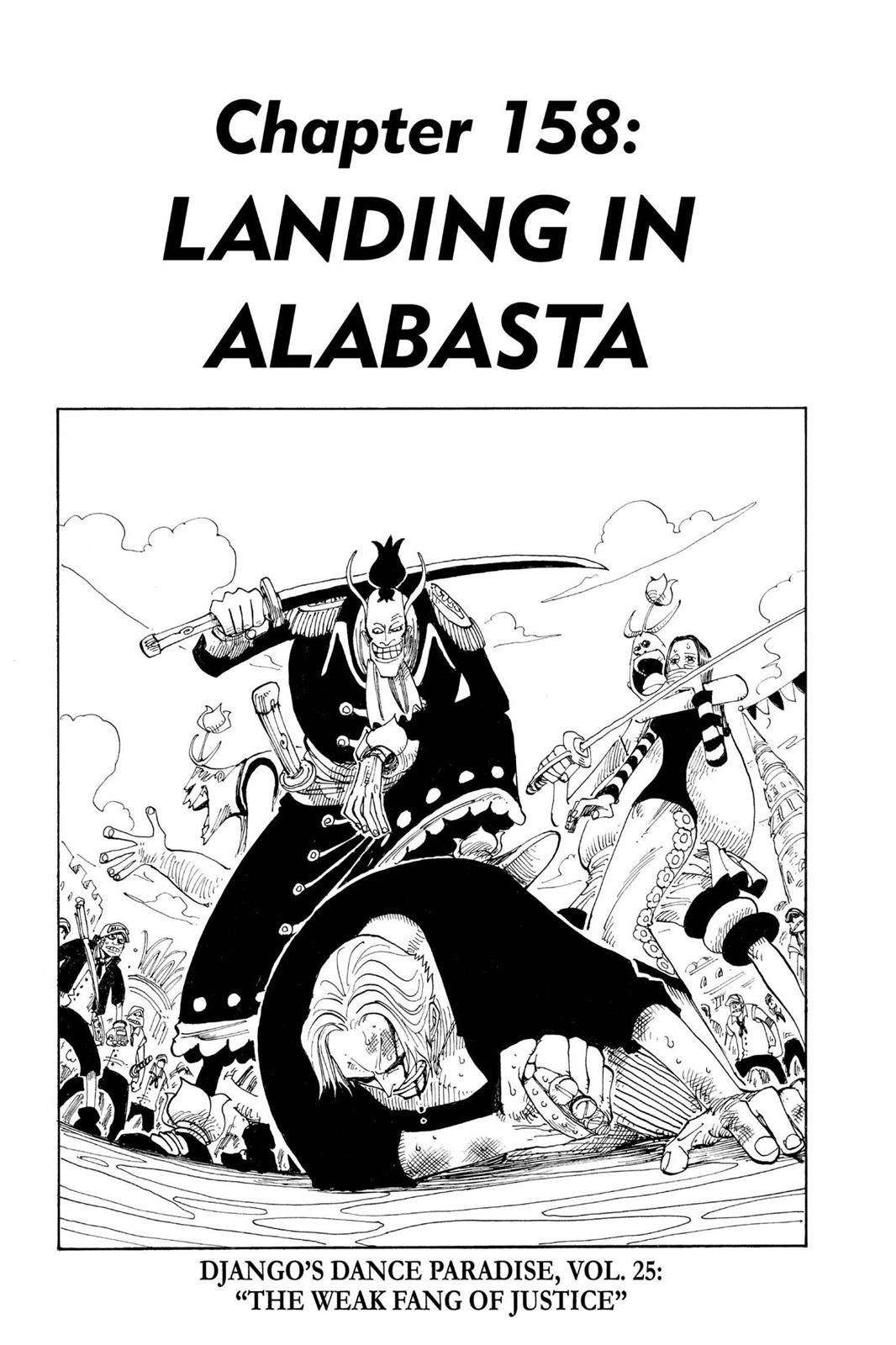 One Piece, Chapter 158 image 001