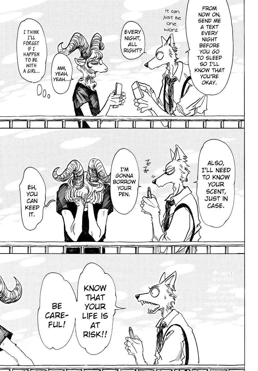 Beastars Manga, Chapter 74 image 001