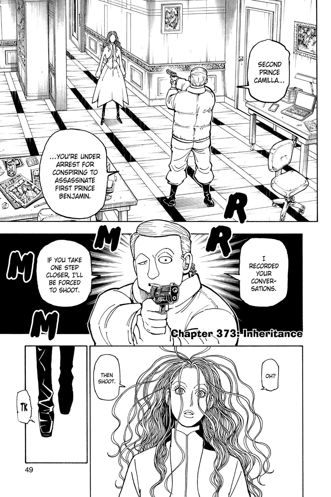 Hunter X Hunter, Chapter 373 image 001