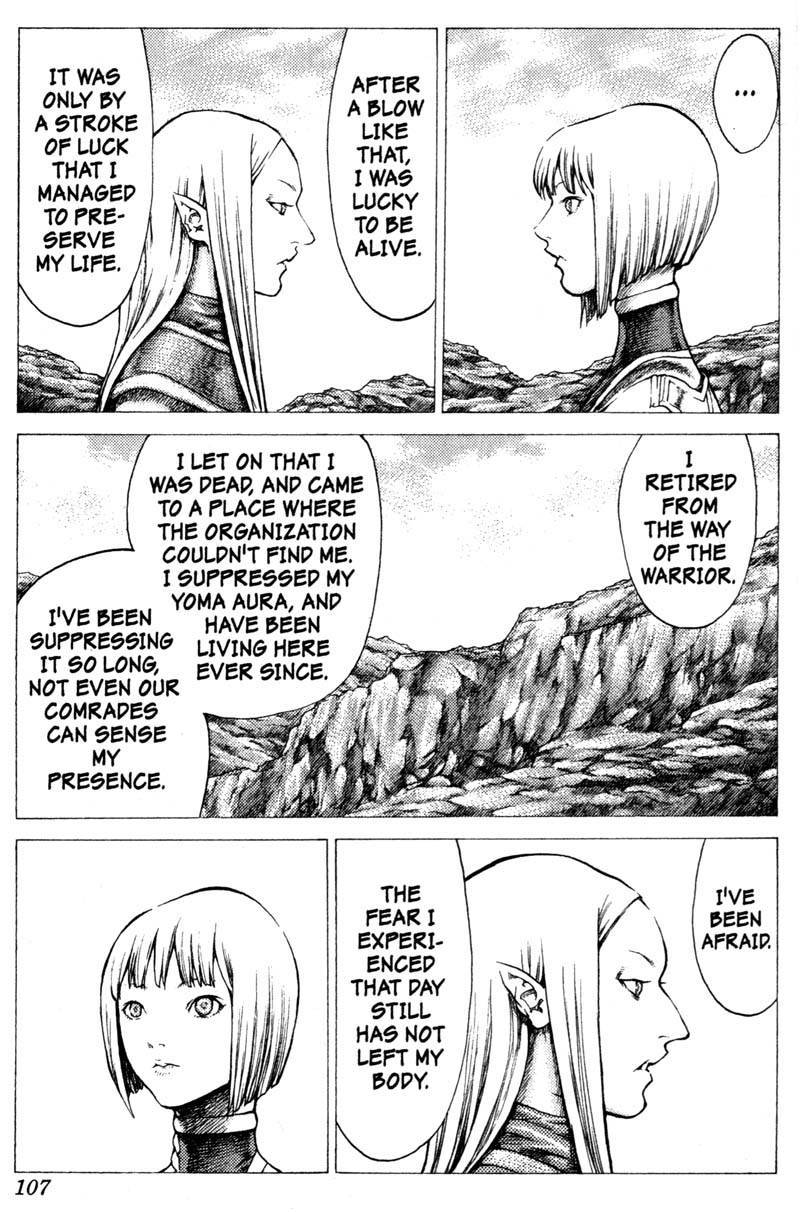 Claymore, Chapter 37 image 018