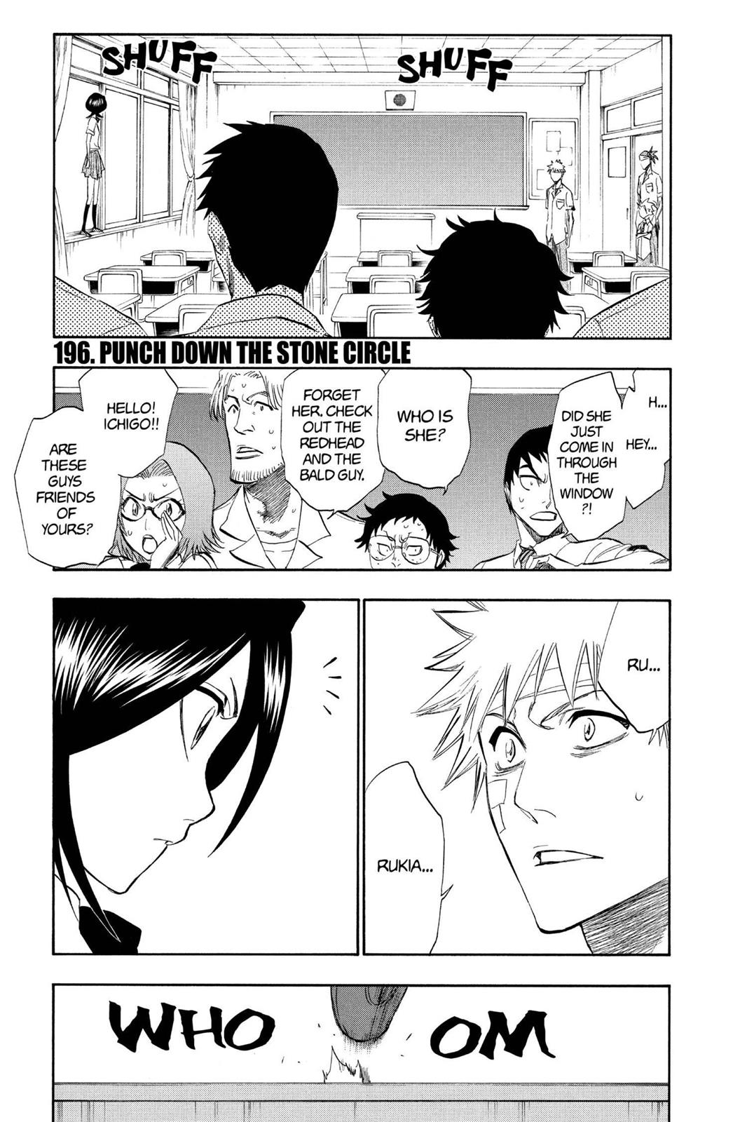Bleach, Chapter 196 image 001