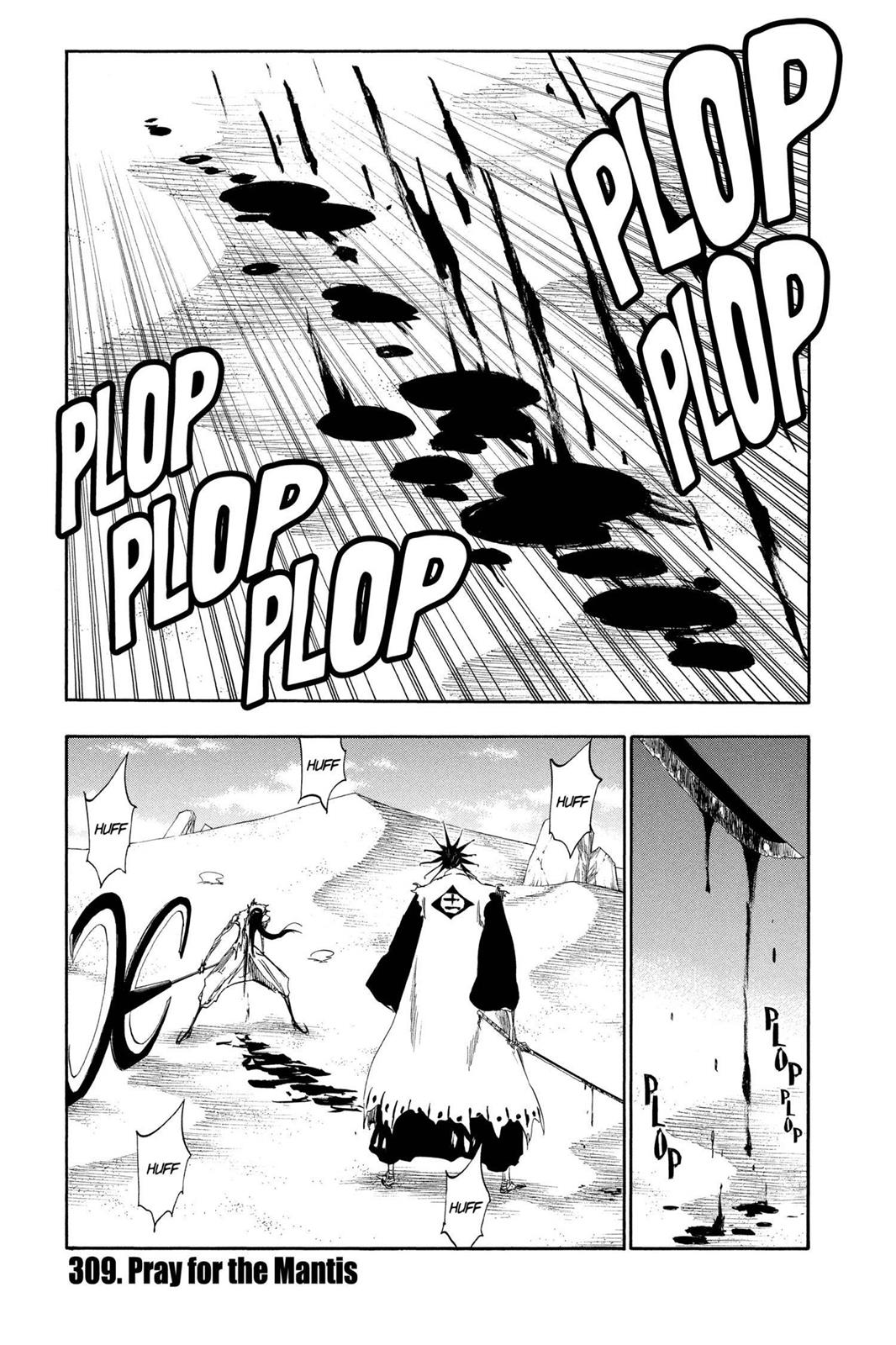 Bleach, Chapter 309 image 001