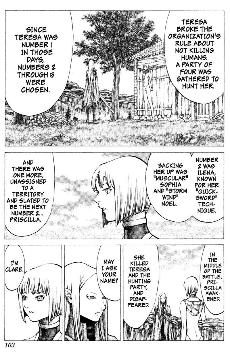 Claymore, Chapter 37 image 014