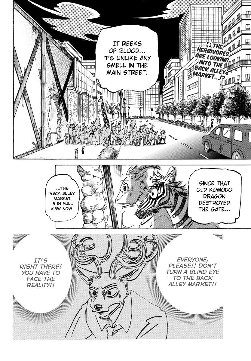 Beastars Manga, Chapter 190 image 002