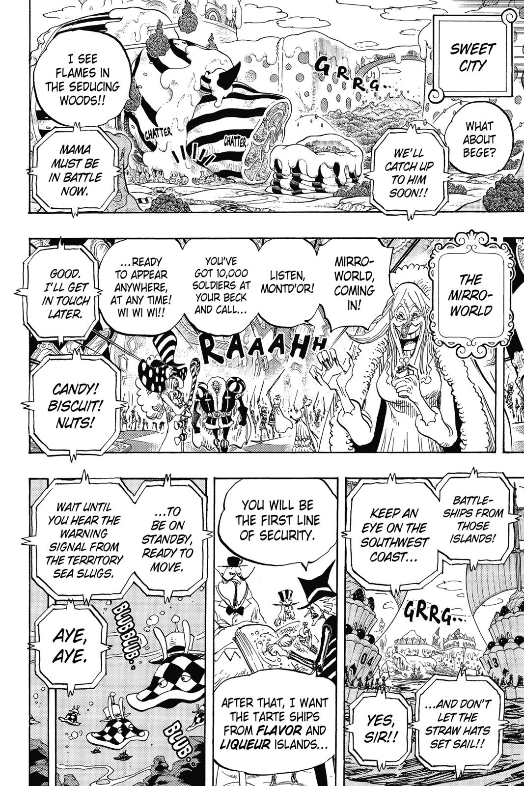 One Piece, Chapter 874 image 015