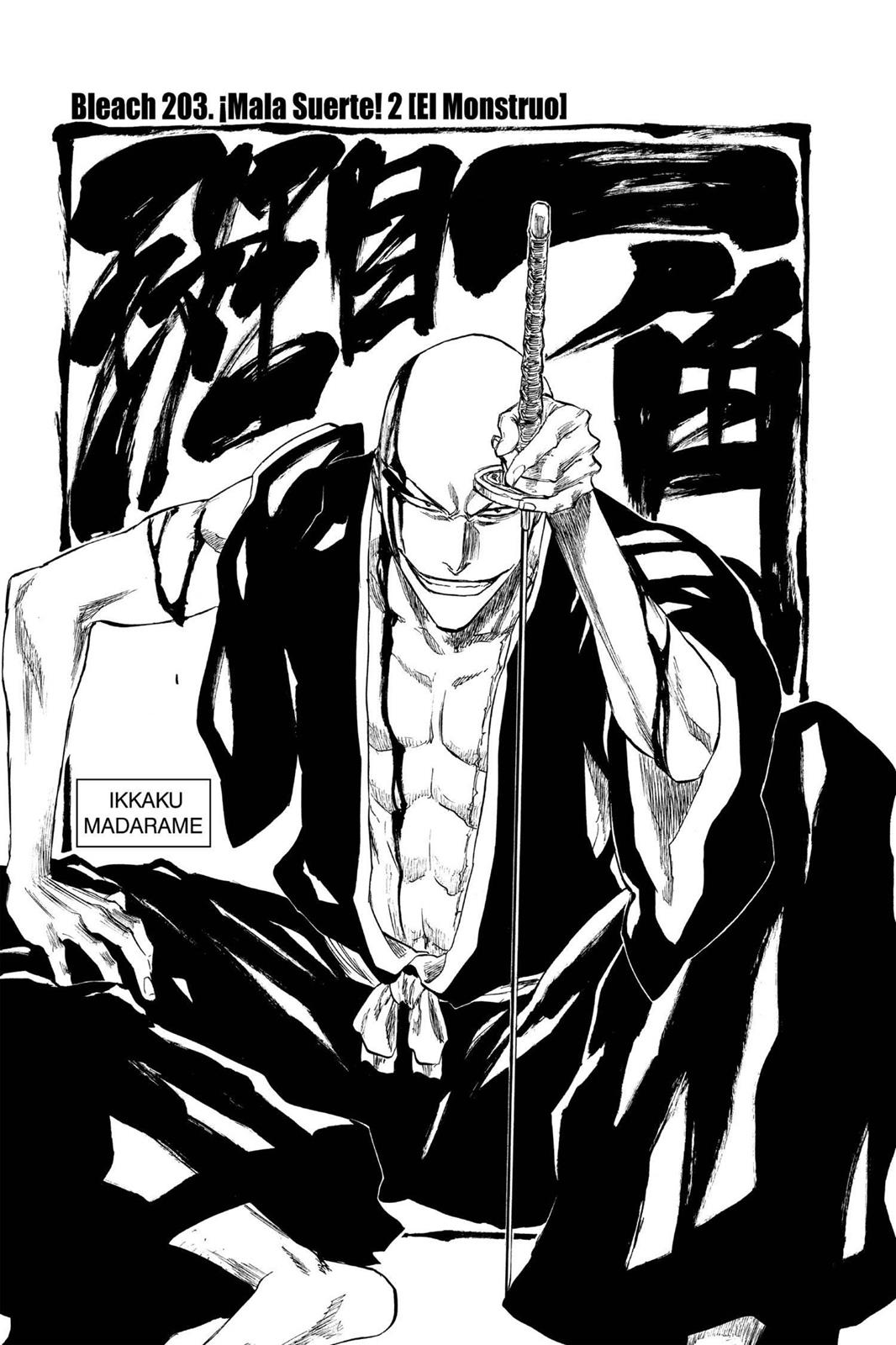 Bleach, Chapter 203 image 007
