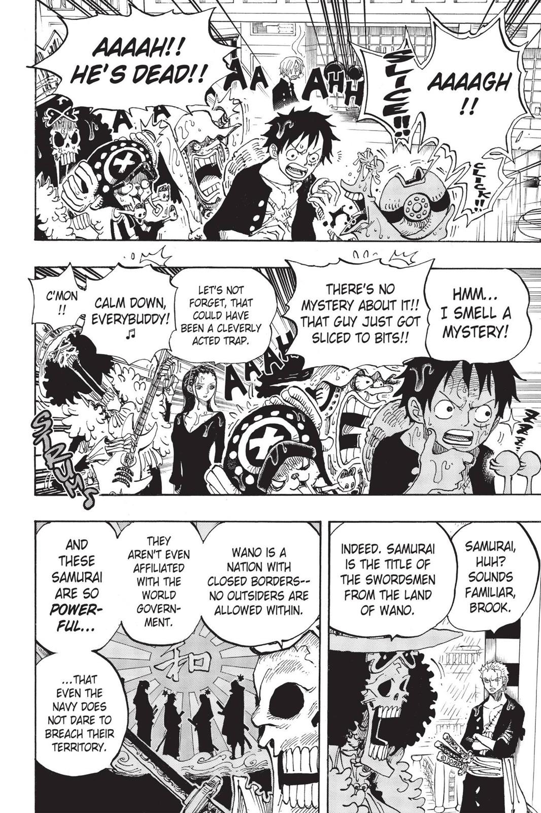 One Piece, Chapter 655 image 006