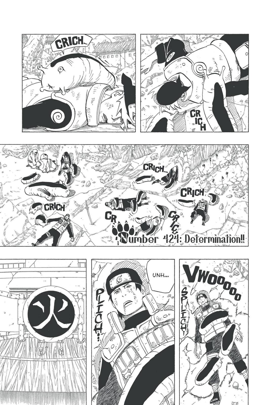 Naruto, Chapter 424 image 001