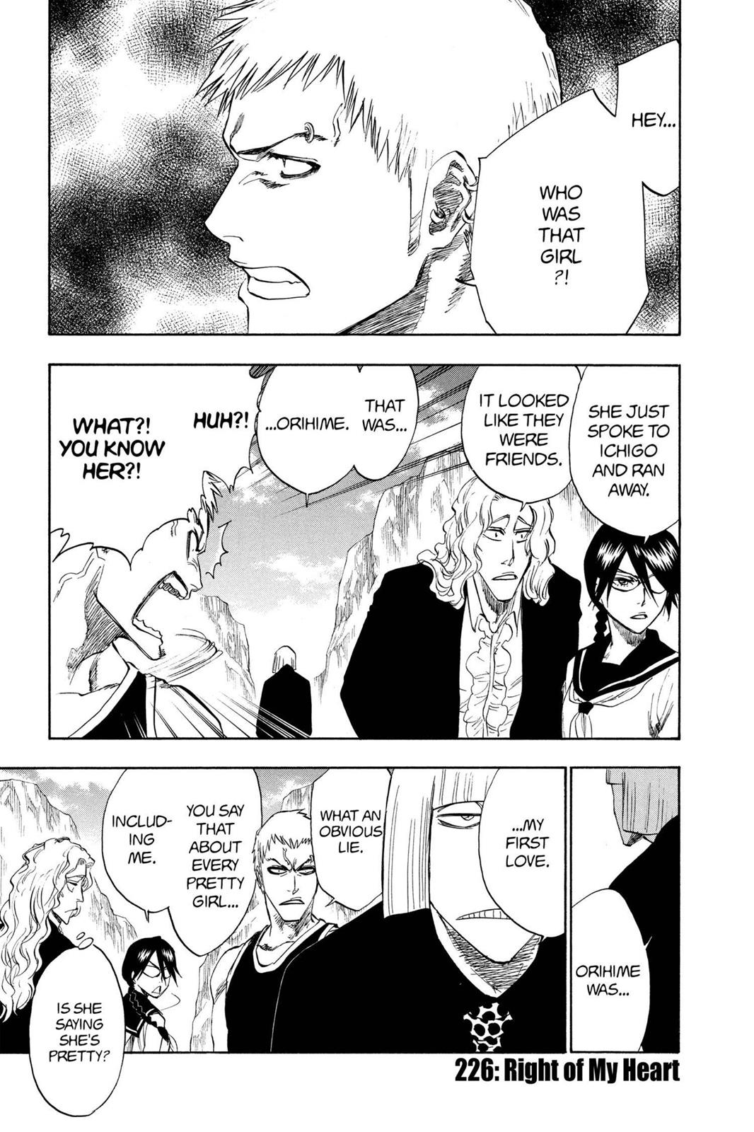 Bleach, Chapter 226 image 001