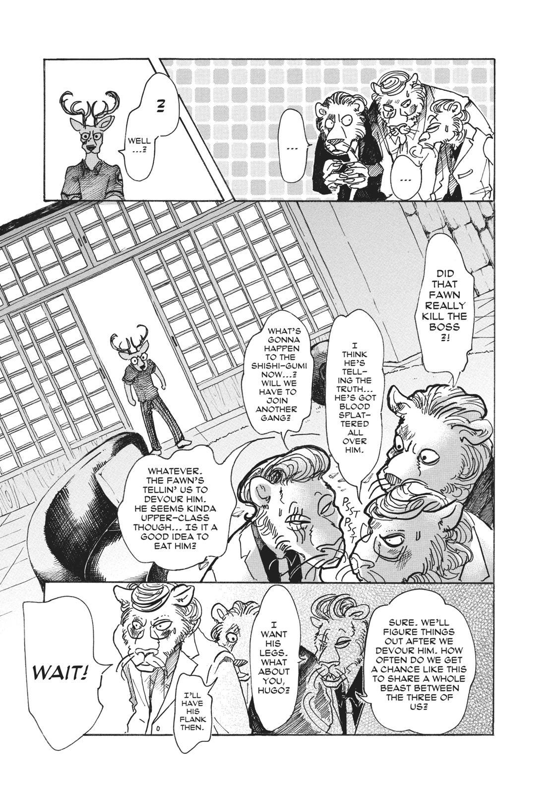Beastars Manga, Chapter 51 image 005