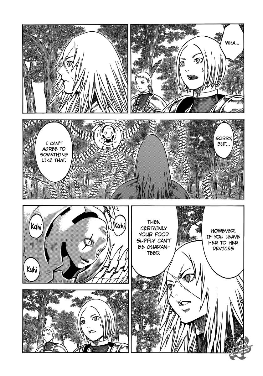 Claymore, Chapter 137 image 011