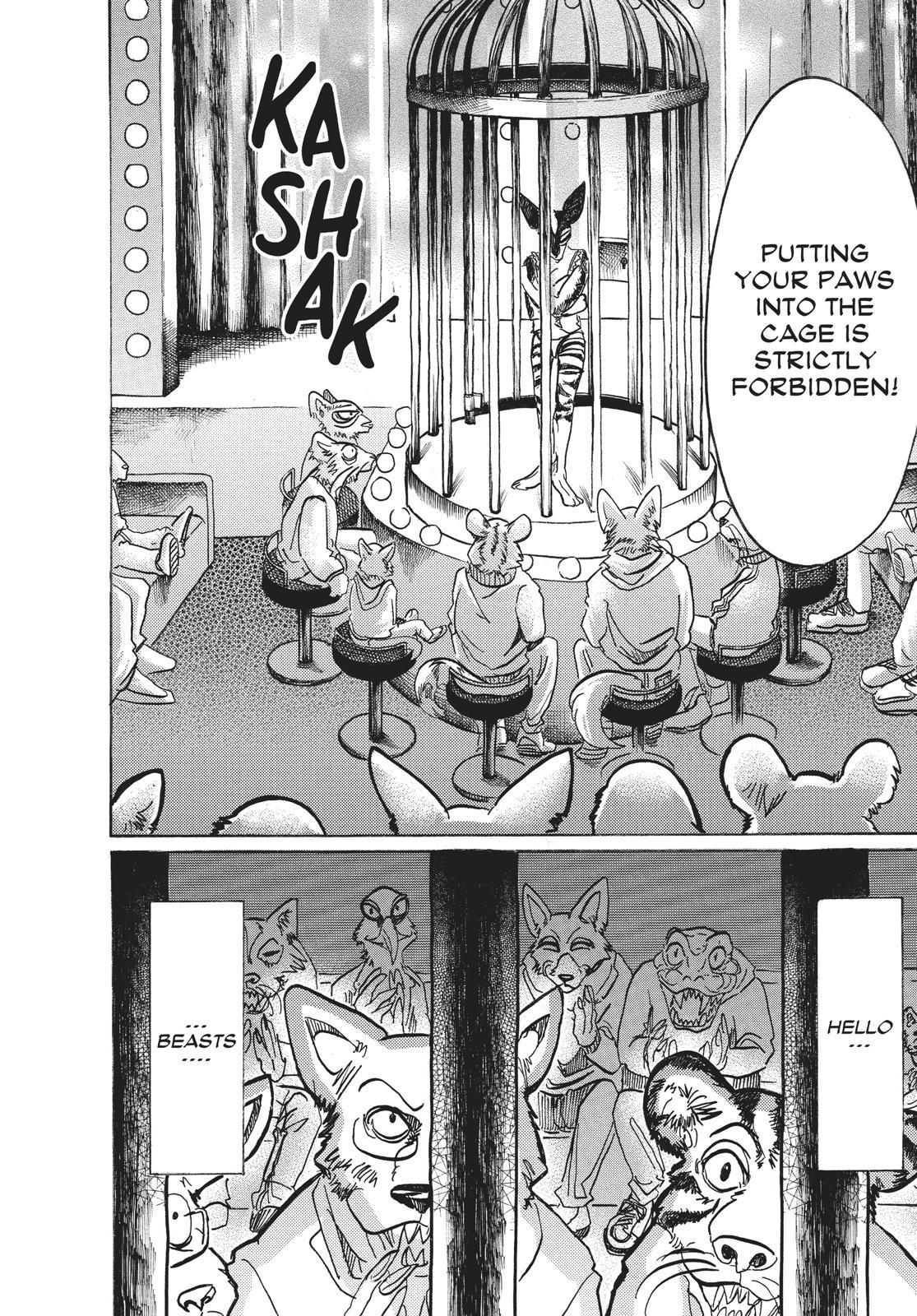 Beastars Manga, Chapter 64 image 004
