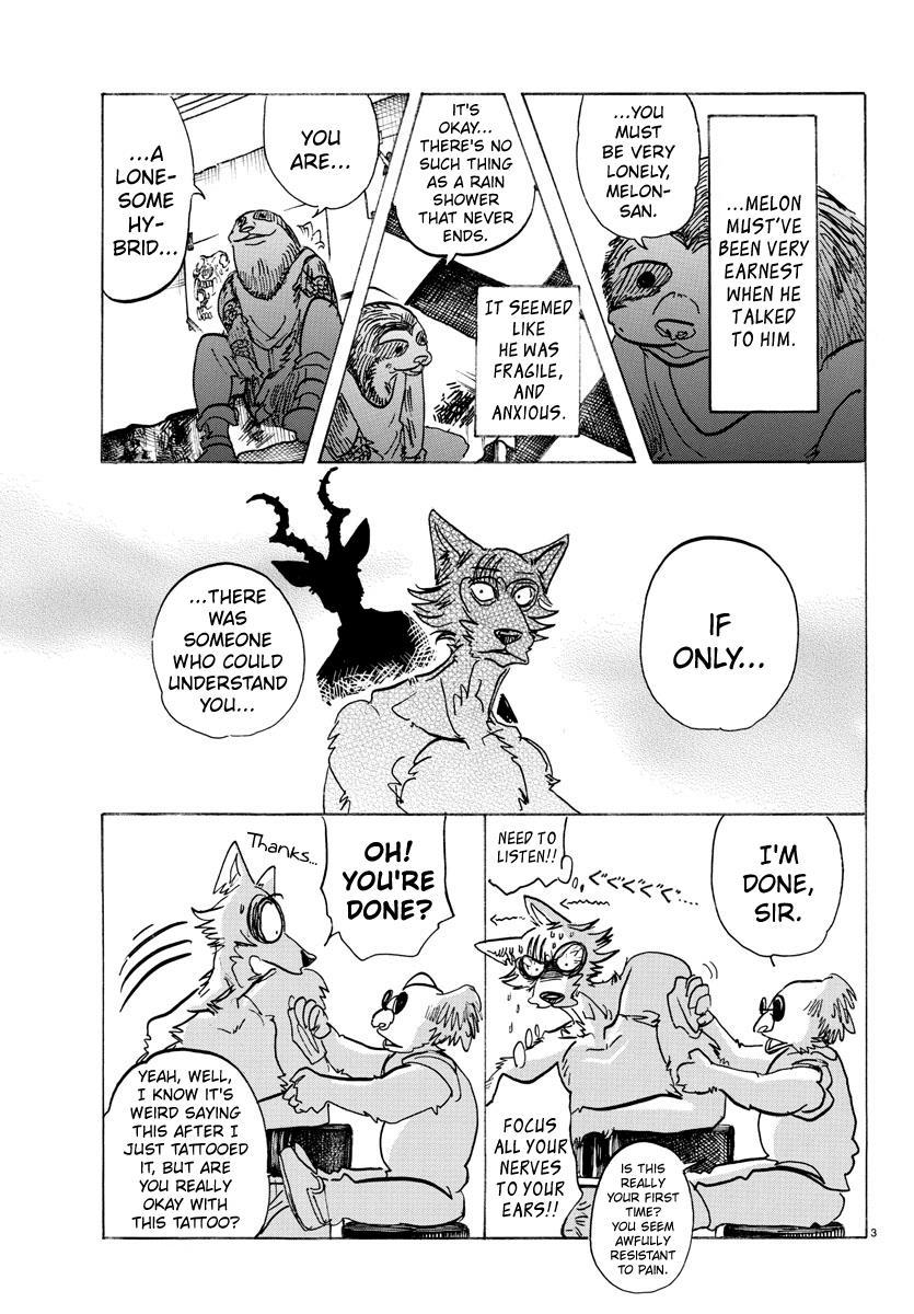 Beastars Manga, Chapter 140 image 003