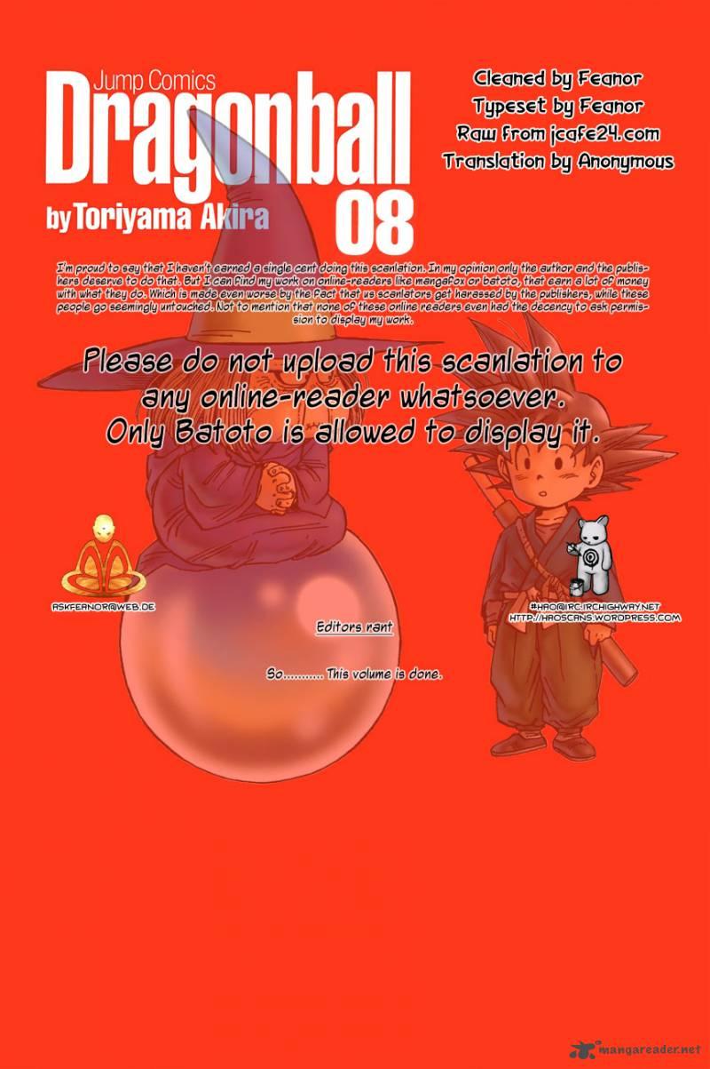 Dragon Ball, Chapter 119 image 001