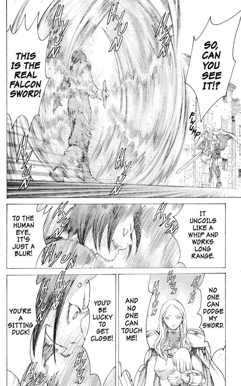 Claymore, Chapter 17 image 007