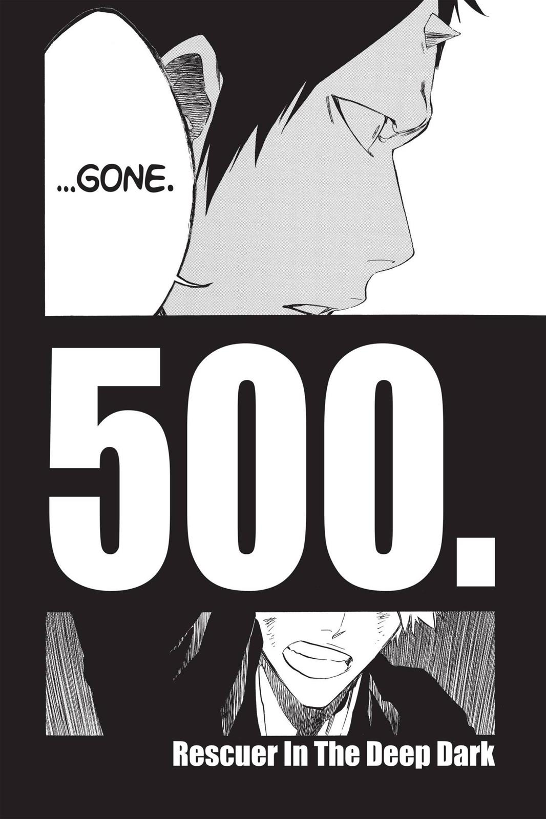Bleach, Chapter 500 image 012
