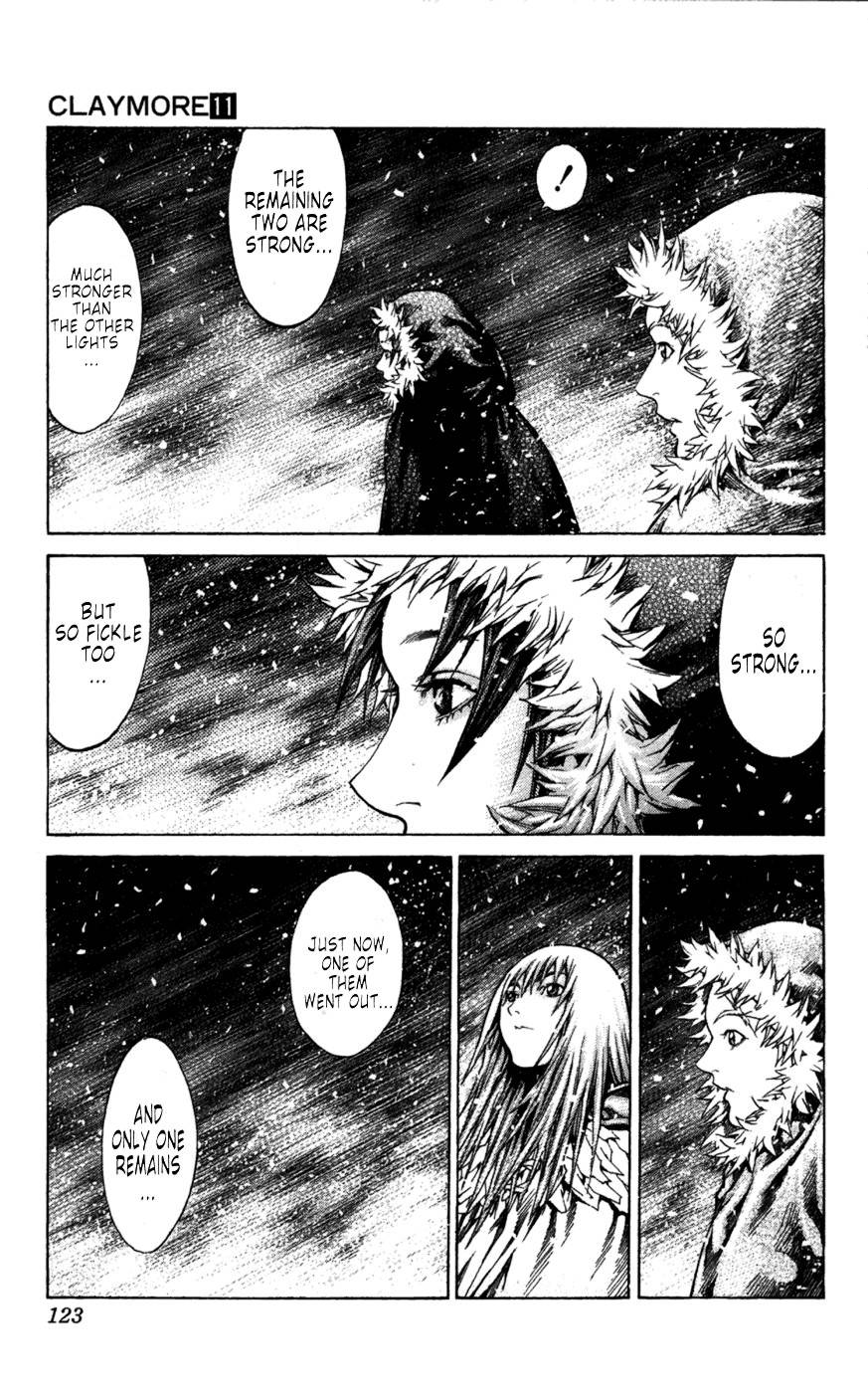 Claymore, Chapter 61 image 029