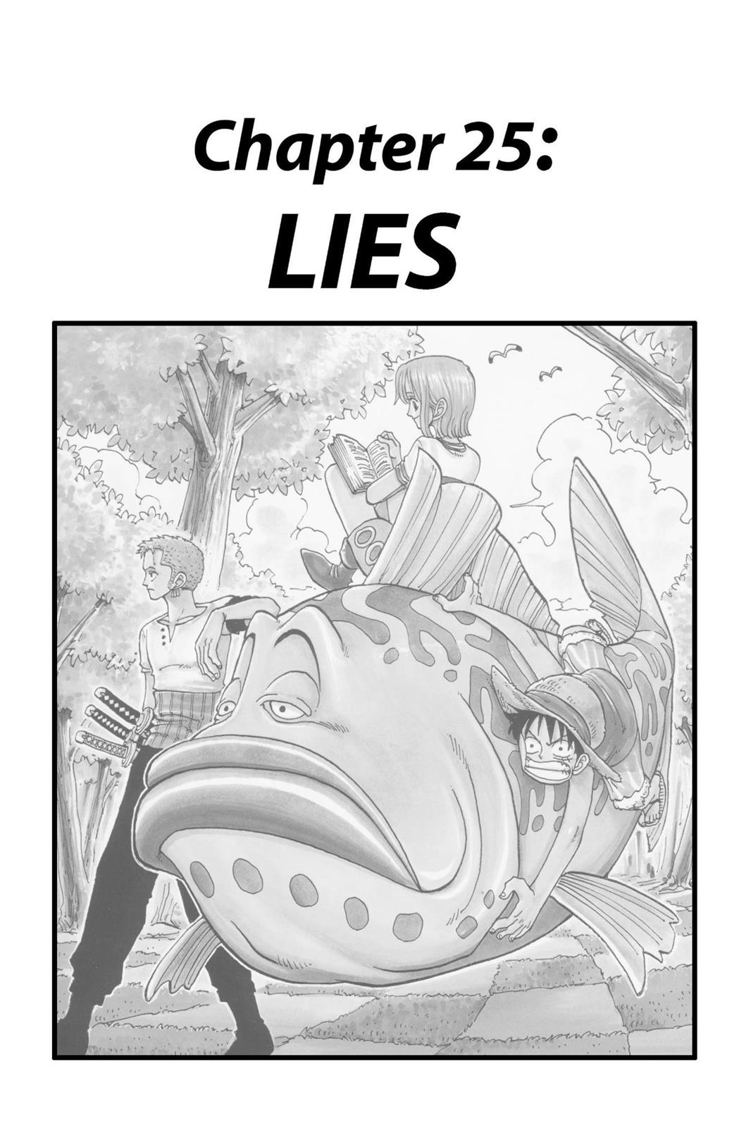 One Piece, Chapter 25 image 001