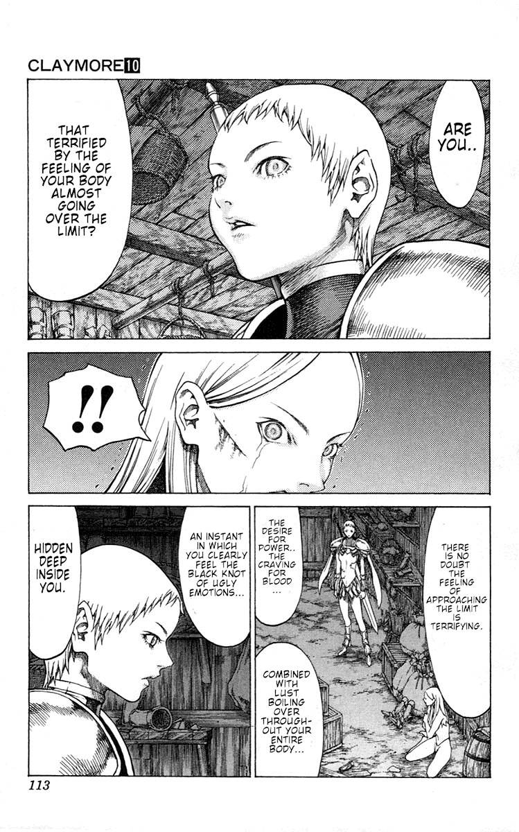 Claymore, Chapter 55 image 011