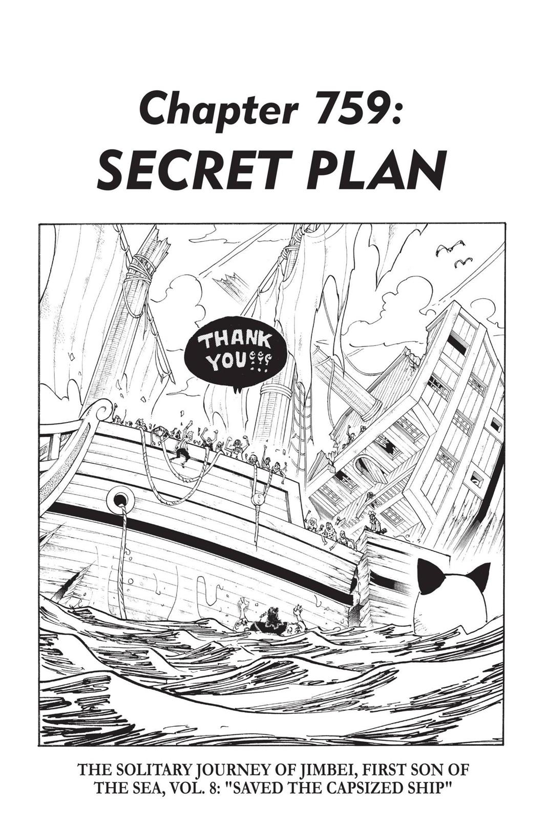 One Piece, Chapter 759 image 001