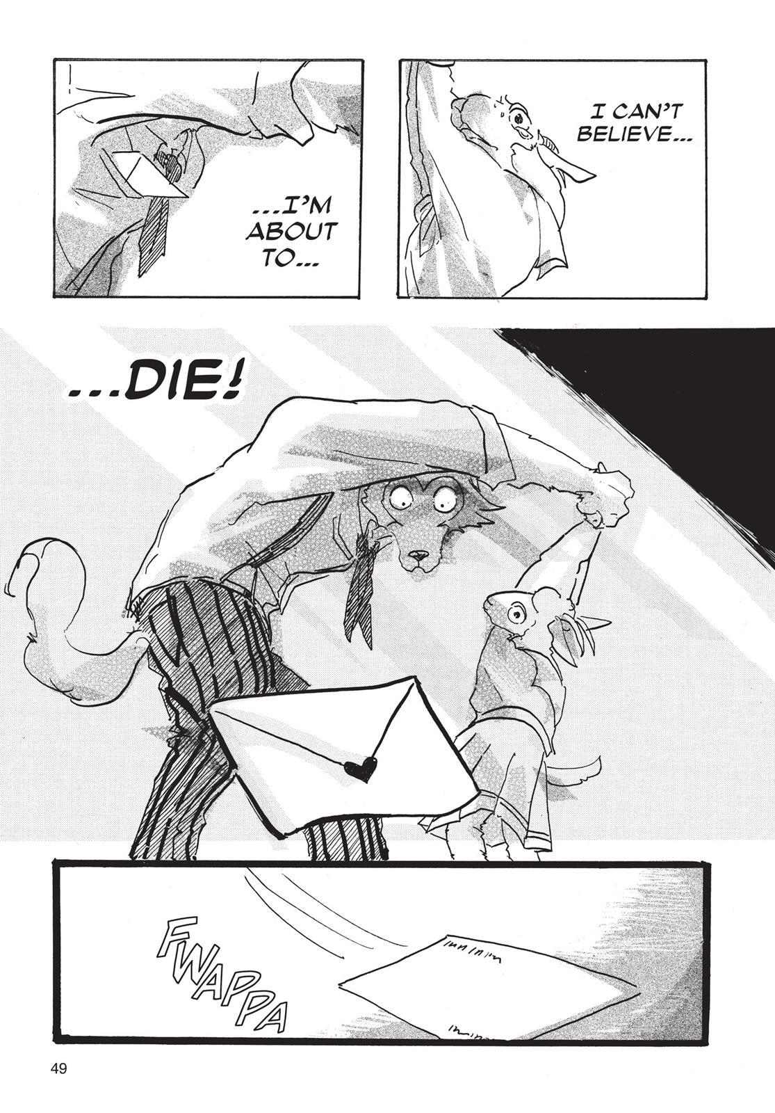 Beastars Manga, Chapter 1 image 048