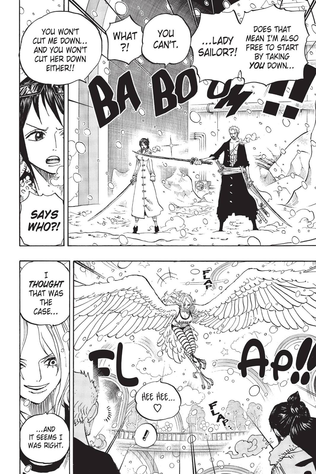 One Piece, Chapter 687 image 004