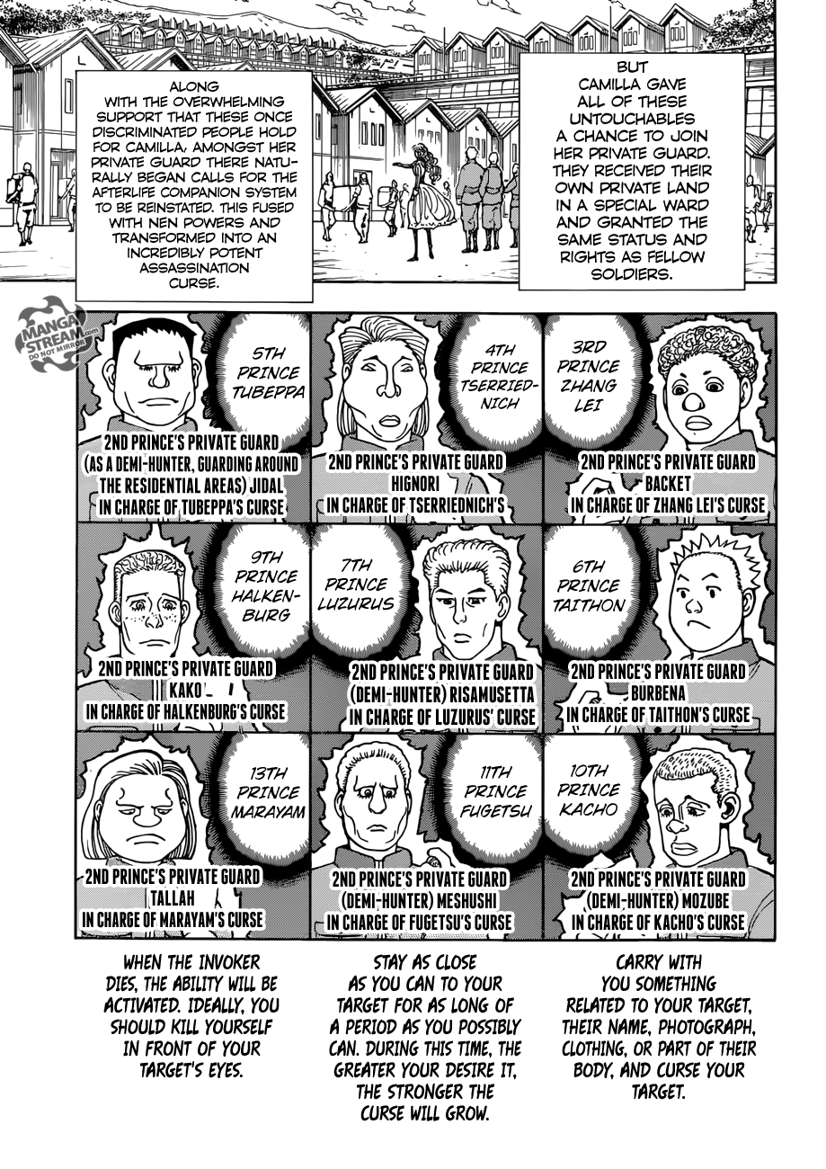 Hunter X Hunter, Chapter 389 image 016