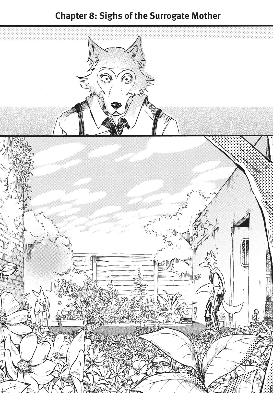 Beastars Manga, Chapter 8 image 005