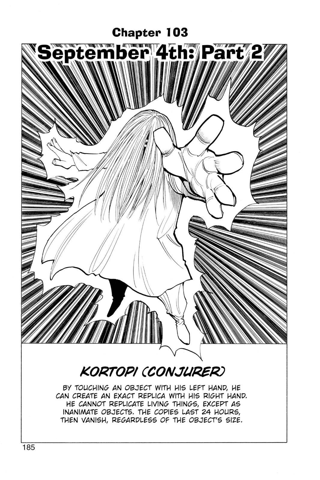 Hunter X Hunter, Chapter 103 image 003