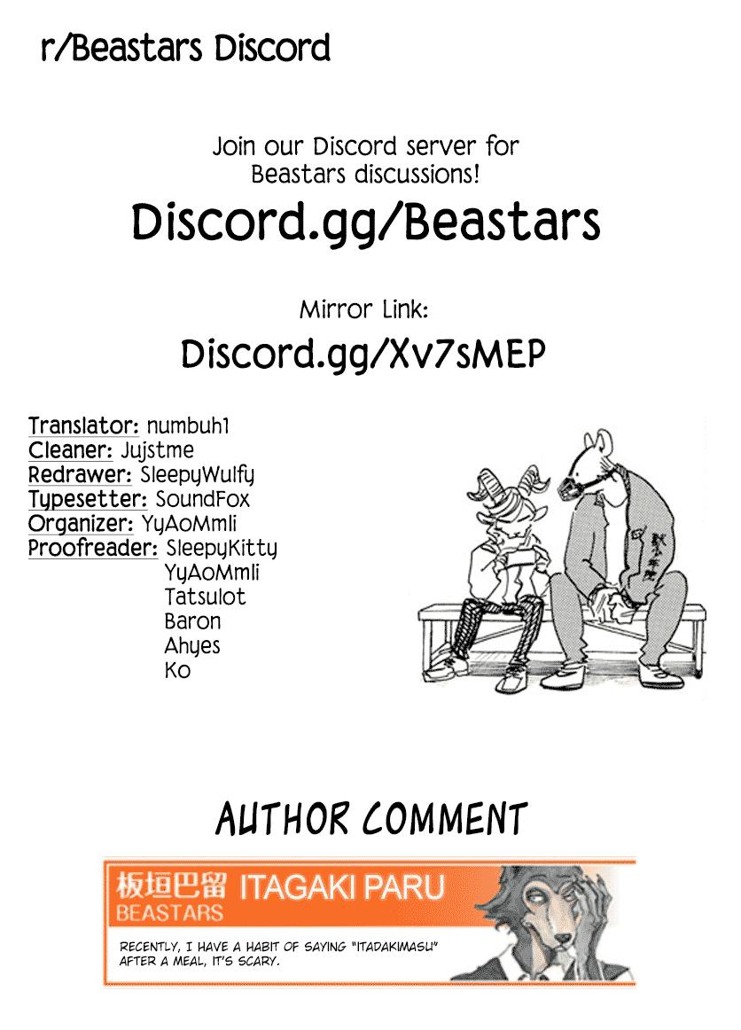 Beastars Manga, Chapter 182 image 019