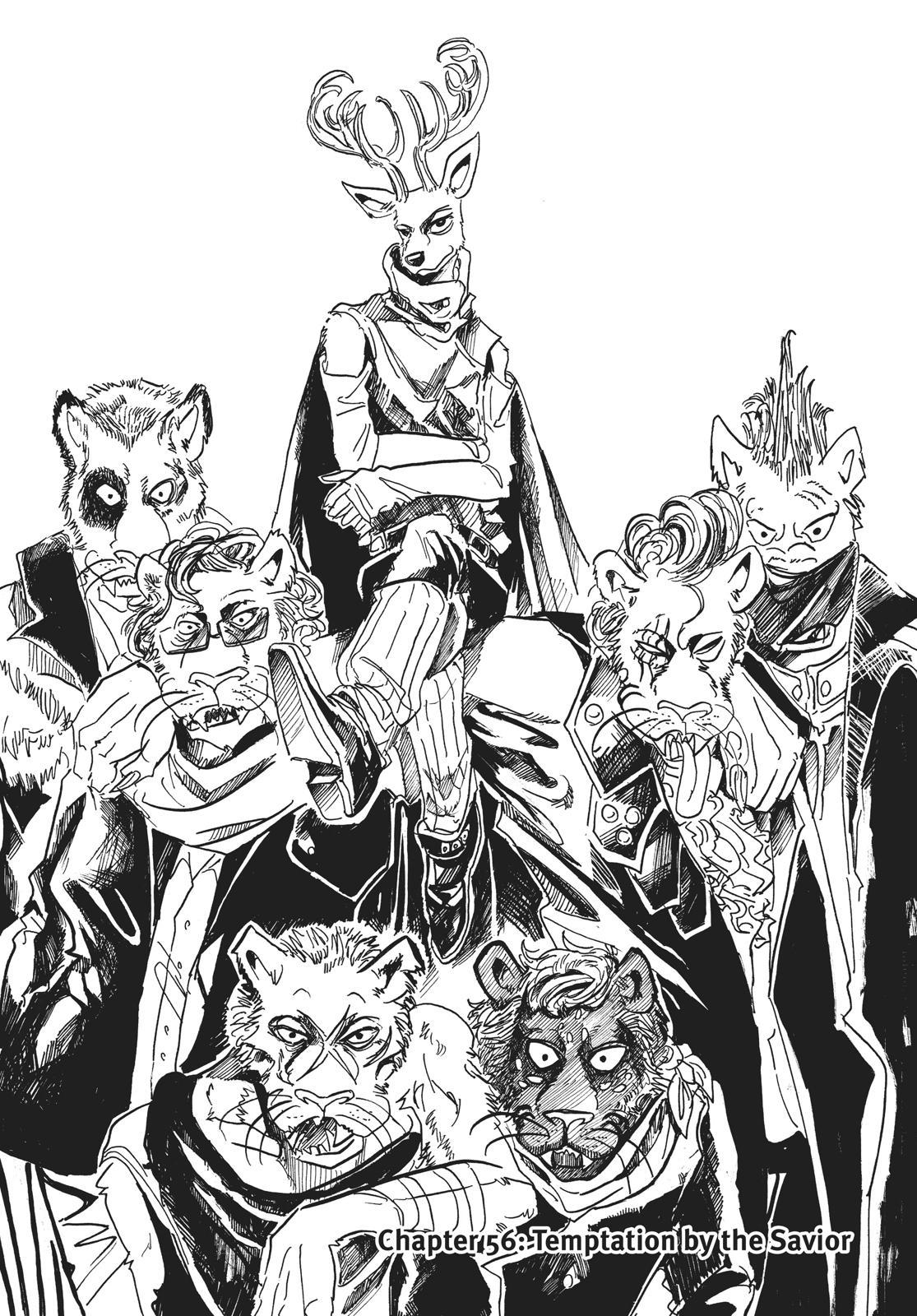 Beastars Manga, Chapter 56 image 001