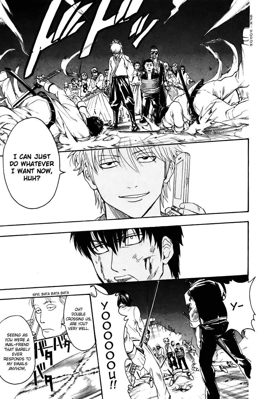 Gintama Chapter, 369 image 007