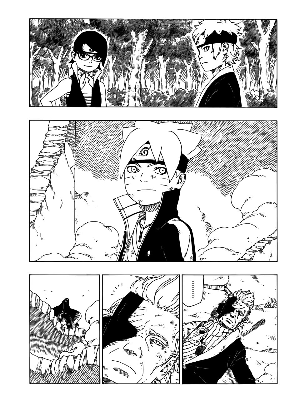 Boruto Manga, Chapter 22 image 034