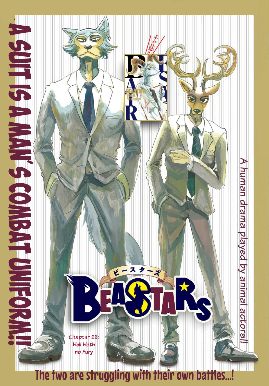 Beastars Manga, Chapter 88 image 001