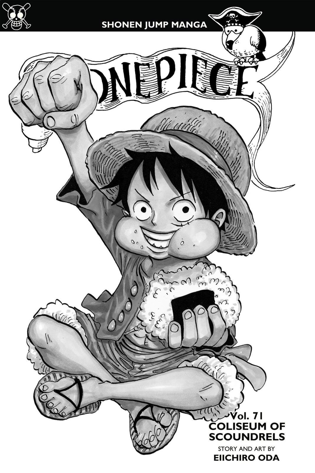 One Piece, Chapter 701 image 004